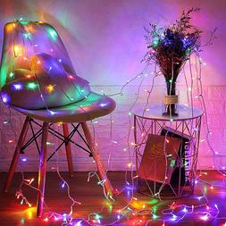 100 LED Fairy String Lights Waterproof Outdoor Garden Party