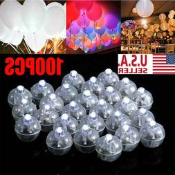100pcs LED Ball Lamps Balloon Light for Paper Lantern Weddin