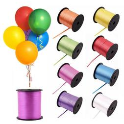 100Yds Curling Ribbon On Spools Color Party Decorations Wedd