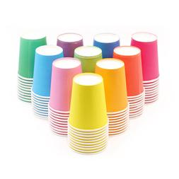 10pcs Pure Colour <font><b>Party</b></font> Disposable Paper