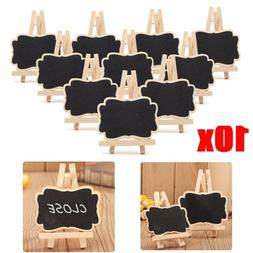 10pcs/set Mini Wooden Blackboard <font><b>Chalkboard</b></fo