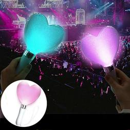 15 Colors Glow Flashing Sticks LED Light Wands Live Concert