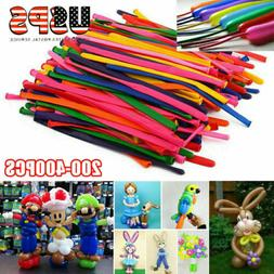 200/400pcs Party Long Animal Tying Making Balloons Twist Lat