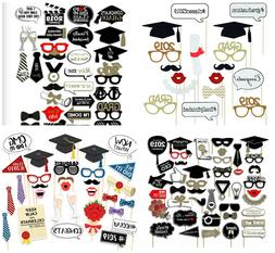 2019 Graduation Grad Party Supplies Masks Photo Booth Props