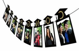 2019 Graduation Photo Banner Party Supplies - Congrats Grad