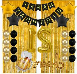 21st Birthday Decorations for Him Her 21 Birthday Party Deco