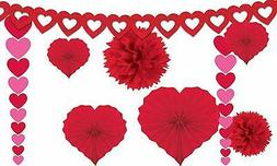 Amscan 240184 Valentine's Day Paper Kit party-decorations, O