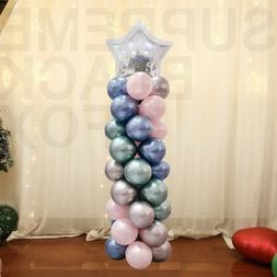 Large Balloon Arch Set Column Stand Base Frame Kit Wedding B