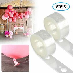 2Pcs Balloon Arch Frame Kit Column Water Base Stand Wedding