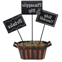 3 Chalkboard Centerpiece Sticks Personalize Decor Dessert We