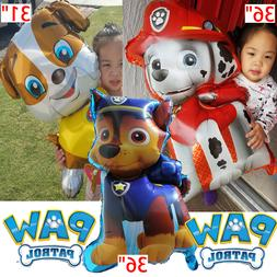 3 PACK PAW PATROL MARSHALL CHASE BALLOONS BALlOON decoration