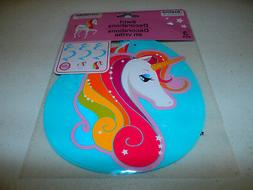 3 Unicorn Rainbow Hanging Swirls Spirals Wall Girls Birthday