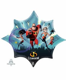 "35"" Disney Incredibles 2 Foil Balloon , Birthday party, Ball"