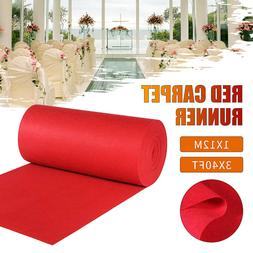 40ftx4ft Large Red Carpet Wedding Aisle Floor Runner Hollywo