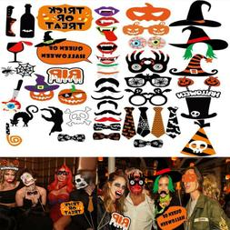 Tinksky 47pcs DIY Party Photo Booth Props Creative Halloween