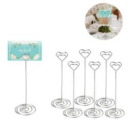 Table Number Holder Stand Wedding Centerpieces Card Party De