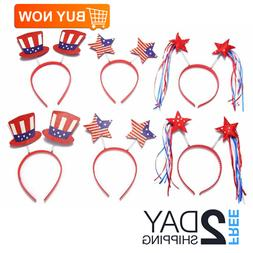 4th of July Party Accessories Moon Boat Head Boppers Headban