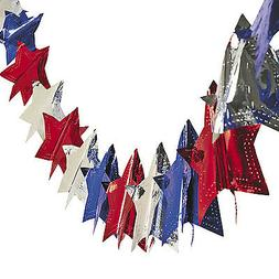 4th of July PATRIOTIC Election Party Decoration Metallic FOI