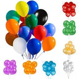 """50/100PCs Assorted Latex Balloons Bulk 12""""  For Birthday Wed"""