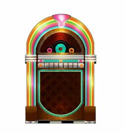 50s jukebox standee cardboard cutout