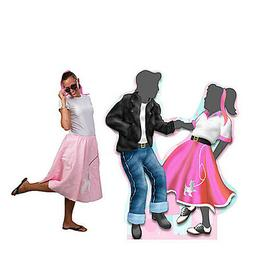 6 ft. Fifties Dancing Couple Standee