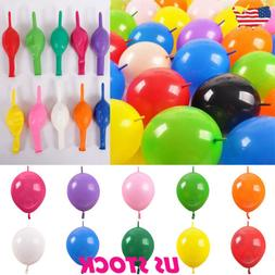 6 inch Link Balloons Wedding Party Decorations Tail Balloon
