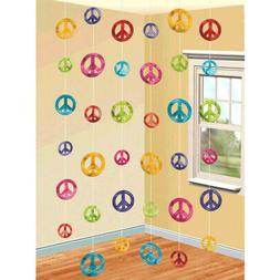 60's Groovy String Decorations-6 Per Unit