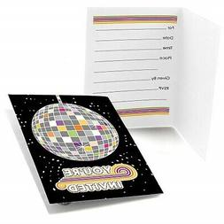 70's Disco - Fill In 1970's Disco Fever Party Invitations