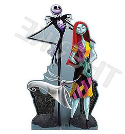 Advanced Graphics 725 Jack And Sally Life-Size Cardboard Sta