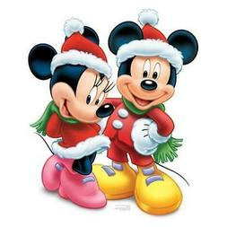Advanced Graphics 744 Mickey and Minnie Christmas