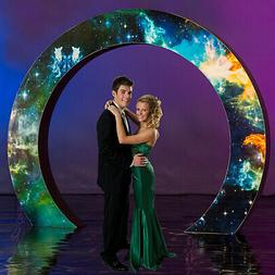 8 ft. 6 in. Mystic Galaxy Circle Arch