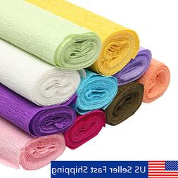 820ft Crepe Paper Wedding Birthday Party Supplies Decoration