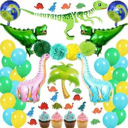 85Pcs Dinosaur Party Supplies Dino Theme Party Decorations S