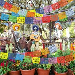 9X Day of the Dead Decoration Hollowed-out Skeleton Mexican