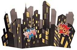 Superhero Comics Party Supplies Scene Setter - Standup City