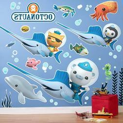 The Octonauts Room Decor - Giant Wall Decals