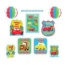 Zooming Disney Cars 1st Birthday Party Assorted Room Decorat