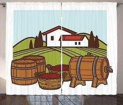 alcohol curtains 2 panel set decoration 5
