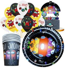 AMONG US balloon Cupcake Topper Party Decoration Supplies SP