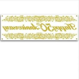 anniversary sign banner party accessory