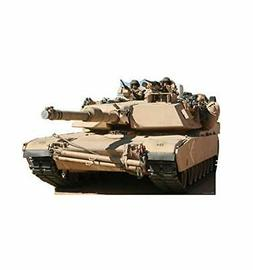 Advanced Graphics Army Tank Life Size Cardboard Cutout Stand