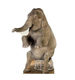 Advanced Graphics Asian Elephant Life Size Cardboard Cutout