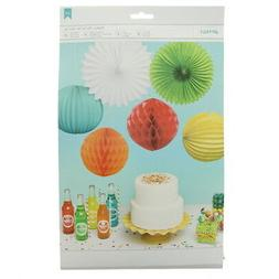 American Crafts Assorted Party Decorations Patterns Party Fa