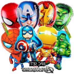 Avengers Decorations Party Balloons Iron man Captain America