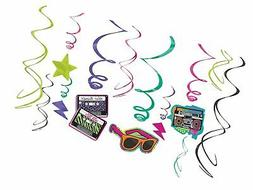 80's Value Pack Party Swirl Decorating Kit