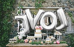B-G 40'' LOVE Balloon Set Bridal Shower Party Birthday Vow R