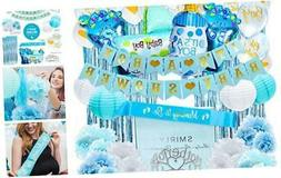 Baby Shower Decorations for Boy Kit: Boys Baby Shower Party