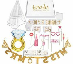 Bachelorette Party Decorations Kit / Bridal Shower Supplies