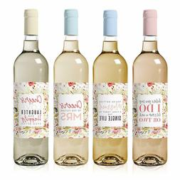 Bachelorette Party Decorations Wine Labels  - Waterproof and