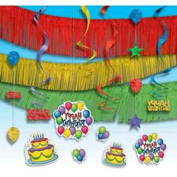 Balloon Fun Streamers Bright Colors Birthday Party Giant Roo